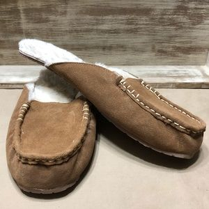 Women's Suede Shae Mule Slippers, NWT